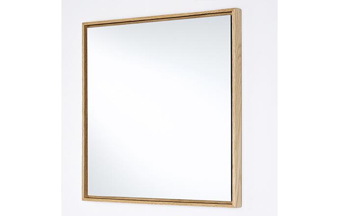 Miroir carré bois - Lina