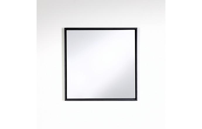 Miroir carré noir - Lina