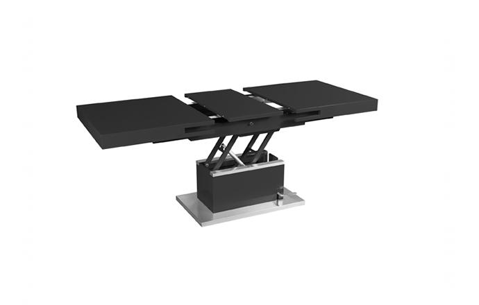 Table basse relevable noir - Set-up - Eda concept