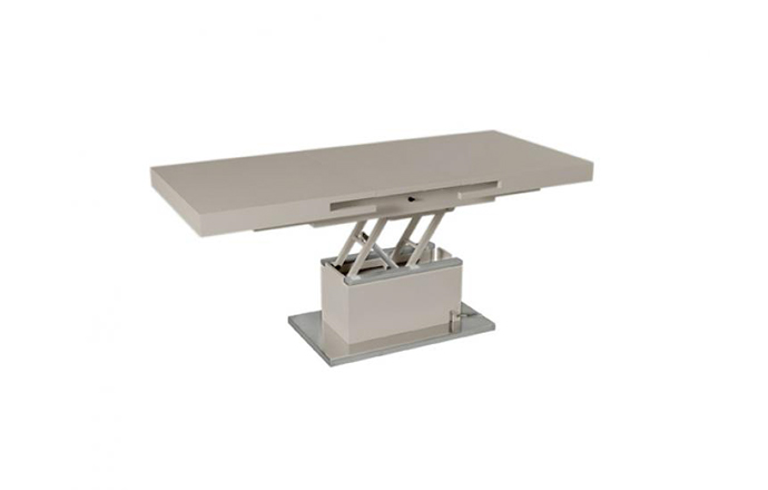 Table basse relevable taupe - Set-up - Eda concept