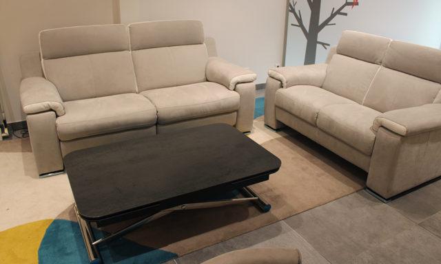 Canapé 2 et 3 places avec 2 relax SORRENTE - Claye-Souilly (77410)