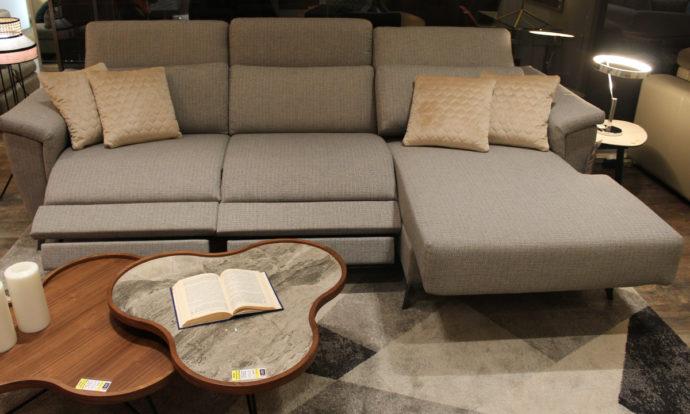 Canapé angle 2 relax méridienne relax à droite vue de face BOLOGNE - Beaugrenelle (75015)