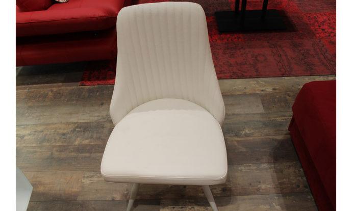 Chaise nanoskin blanc - Beaugrenelle (75015)