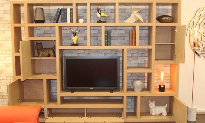 Meuble TV bibliothèque CUBIX - Montévrain (77140)