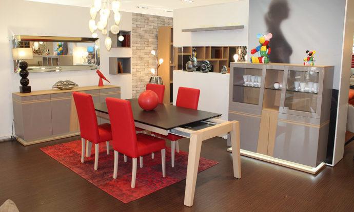 Salle à manger céramique et bois VENISE - Montévrain (77140)