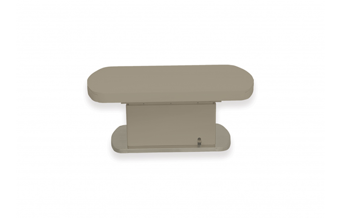 Table basse et relevable extensible DOUBLE SET taupe