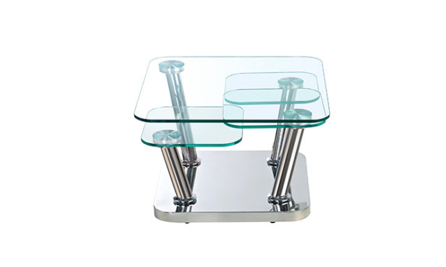 table basse en verre amovible - ego EDA Concept