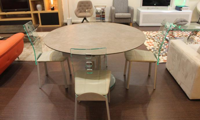 Table extensible ronde céramique PEROUSE - Montévrain (77140)
