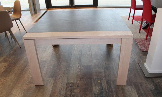 Table de repas carré céramique VAREZE - Cesson (77240)