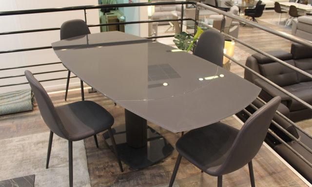 Table de repas extensible LONDON et ses 4 chaises - Cesson (77240)