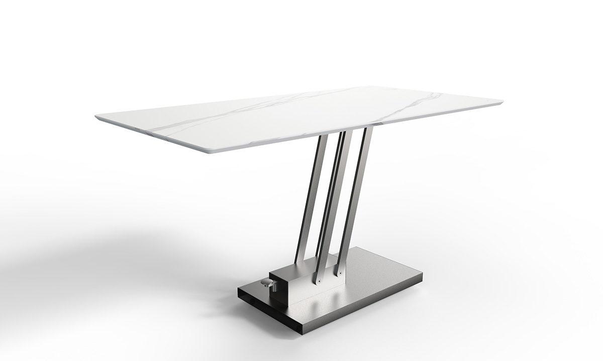 TABLE BASSE CÉRAMIQUE RELEVABLE  // BRAVO CERAMIC – EDA CONCEPT 1