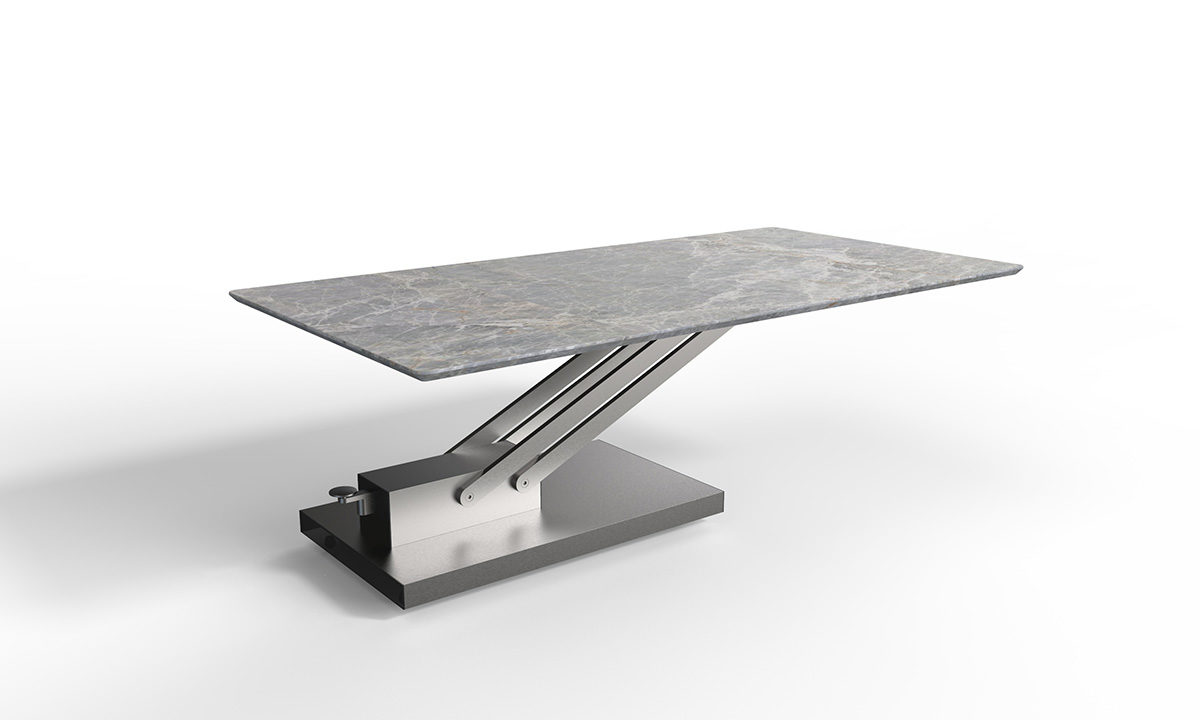 TABLE BASSE CÉRAMIQUE RELEVABLE  // BRAVO CERAMIC – EDA CONCEPT 4