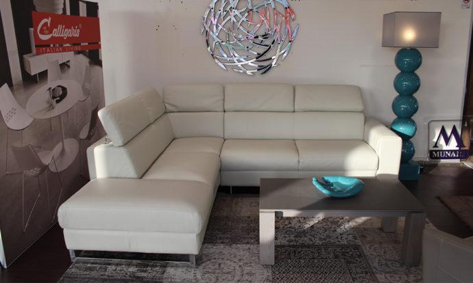 Canapé d'angle cuir VITTORIA - Montévrain (77140)